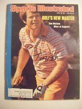 TOM WATSON signed MASTERS 1977 Sports Illustrated golf magazine Autographed AUTO