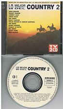 Various ‎– Lo Mejor Del Country 2    2 CDs 1994