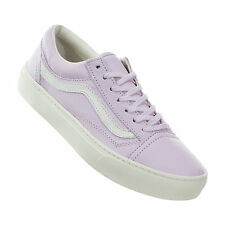 VANS Old Skool Cup Leather Lilac Snow Skate Shoes Women Size 9.0
