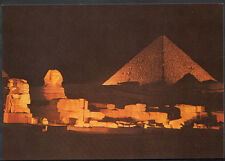 Egypt Postcard - Giza - Sound & Light at The Pyramids of Giza   B3085