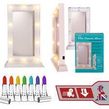 Warm Light LED Cosmetic Make Up Mirror White Hollywood Light Bulb Surround