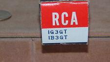 VINTAGE RCA RADIO TUBE TELEVISION TUBE USED IG3GT IB3GT NOT TESTED