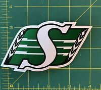 Saskatchewan Roughriders Shield Logo Woven Label  CFL Patch Jersey