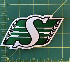 Saskatchewan Roughriders Shield Logo Woven Label  CFL Patch Jersey