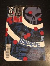 Punisher:Max#8 Incredible Condition 9.2(2010) Bullseye, Kingpin, Dillon Art!!