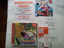 GET BASS JAP JAPANESE JP IMPORT JAPAN DC SEGA DREAMCAST VIDEOGAMES GAMES