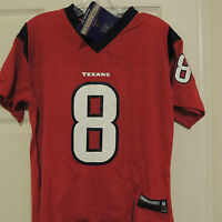 NFL Houston Texans #8 CARR Football Jersey New Womens LARGE