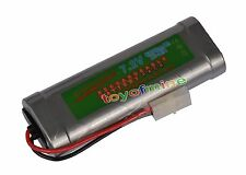 1 pcs 7.2V 6800mAh Ni-Mh rechargeable battery pack RC w/ Tamiya Plug USA