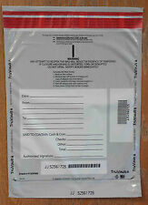 'A' Size Tamper Evident Plastic Deposit Bags - Opaque (100 bags)