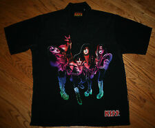 KISS Dragonfly Shirt 2002 vintage Men's Large-Stanley-Simmons/goth/rock/punk/New
