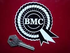 """BMC Rosette autocollants noir & blanc 4 """"paire vinyle Austin Morris Mini HEALEY 3000"""
