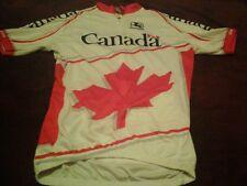 Giordana Canada Cycling Jersey Sz Small Biking Running