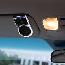 Powered LCM Speaker Solar Handsfree Bluetooth Wireless  Car Kit For Cellphone