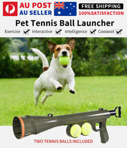 Dog Tennis Ball Launcher Thrower Gun Large Automatic Pet Throw Balls Outdoor