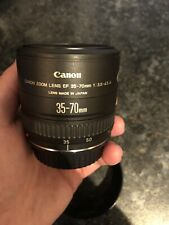 Canon EF 35 -70 mm 1:3.5-4.5 A & Canon lens hood EW-68B. In Excellent condition