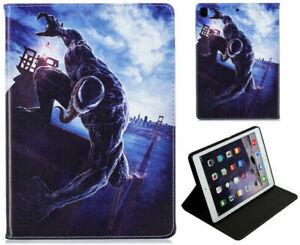 iPad Pro 10.5 / 10.2 / Air 3 Spider-man Marvel Comics Avengers Venom Case Cover