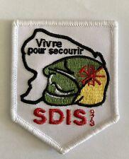Ancien écusson sécurité civile Sapeurs Pompiers SDIS 973 Guyane collection