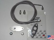 94-95 Ford Mustang 5.0 1/4in EGR Delete Plate Kit with #3 Boost Vacuum Hose