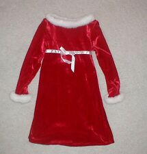 Girls size 7/8 Christmas Dress children outfit clothing clean nice smoke free