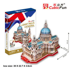St. Paul's Cathedral - (S.T.E.A.M) CubicFun 3D puzzle MC117h 107 pcs