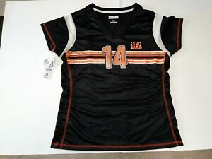 ANDY DALTON Cincinnati Bengals DRAFT ME style JERSEY/Shirt Womens Large  NWT NFL