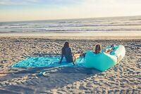 Fast Inflatable Lounger Portable Outdoor Indoor Wind Bed Lounger, Air Bed Sofa