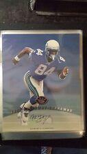 1997 Leaf Signature 8x10 Joey Galloway Auto Seahawks Autograph