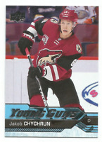 2016-17 UD Young Guns #206 Jakob Chychrun RC Rookie Phoenix Coyotes