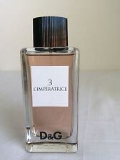 NEW Dolce & Gabbana D&G Anthology 3 L'Imperatrice EDT Spray 3.3oz Womens Women's