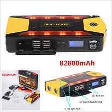 Portable 82800mAh Car Jump Starter Emergency Charger Booster Power Bank Battery