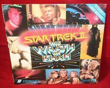 Laserdisc {v} * Star Trek II The Wrath Of Khan * William Shatner