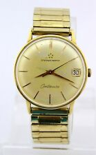 Eterna-Matic Centenaire Gold cal. 1438U Armbanduhr watch AUTOMATIC Datum