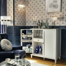 Laura Ashley Wallpaper Montague Midnight Same Batch Peacock Feathers