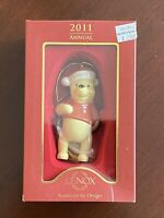2011 Lenox DISNEY Winnie the Pooh Porcelain Ornament Original Box