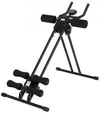 MACCHINA per addominali EXERCISER panca addominali pancia TONER Trainer Home Fitness Attrezzatura