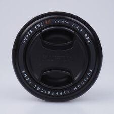 Fujifilm FUJINON XF 27mm F2.8 Lens Black