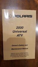 2000 POLARIS UNIVERSAL ATV OWNERS MANUAL