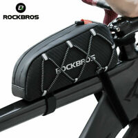 ROCKBROS Cycling Bag Bicycle Waterproof Reflective Frame Front Top Tube Bag 1L