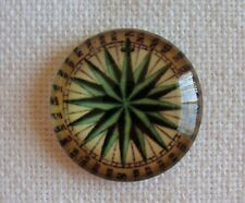 Magnetic Glass Needle Minder Keeper Cross Stitch Compass G167/ Fridge Magnet