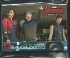 Avengers Age of Ultron Trading Card Complete Chase set Behind the Lens