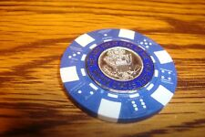The First GREAT SEAL of The United States Poker Chip Golf Ball Marker Card Guard