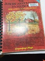 The American Country Hymn Book - 1978Hymnal songbook sheet music - Piano Vtg