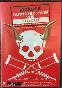 Jackass - Nummer Zwei/Der Film  (Uncut) (DVD) mit Verleihrecht (ab 18)
