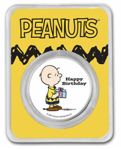 2: Peanuts® Charlie Brown Happy Birthday / 1 Easel Display Stand