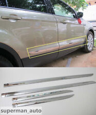 ABS Chrome Door Side Body Molding Cover Trim  For Ford Escape Kuga 2013-2018