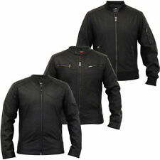 Leather Regular Size Coats & Jackets for Men