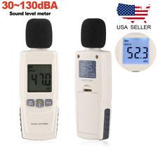 30-130DB LCD Digital Sound Level Meter Noise Measuring Instrument Decibel Tester