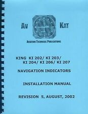 KING  KI 202, 203, 204, 206,  207   INSTALLATION MANUAL