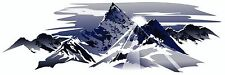 1 RV TRAILER MOTORHOME MOUNTAIN SCENE DECAL GRAPHIC -630-3