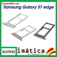 BANDEJA SIM PARA SAMSUNG GALAXY S7 EDGE ADAPTADOR TARJETA MICRO SD G935F